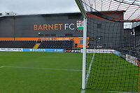 The Hive Barnet FC The Hive Barnet FC  during Barnet vs Woking, Vanarama National League Football at the Hive Stadium on 12th October 2019