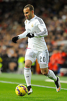 Real Madrid´s Jese Rodriguez during 2014-15 La Liga match between Real Madrid and Sevilla at Santiago Bernabeu stadium in Alcorcon, Madrid, Spain. February 04, 2015. (ALTERPHOTOS/Luis Fernandez) /NORTEphoto.com