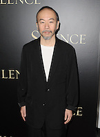 www.acepixs.com<br /> <br /> January 5 2017, LA<br /> <br /> Shinya Tsukamotoa arriving at the premiere of 'Silence' on January 5, 2017 in Los Angeles, California.<br /> <br /> By Line: Peter West/ACE Pictures<br /> <br /> <br /> ACE Pictures Inc<br /> Tel: 6467670430<br /> Email: info@acepixs.com<br /> www.acepixs.com
