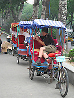Richshaw drivers, Beijing