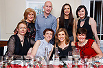 Enjoying their festive celebrations in the Denny Lane Restaurant are the staff of the HSE Finance Dept.<br /> Seated l-r Denise Heaslip, Gillian Higgins, Urusla McCarthy and Rosario Horgan.<br /> Back l-r Marie McMahon, James Wrenn, Laura Brosnan and Jennifer Evans.