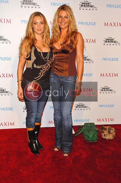 Bobbi Sue Luther and Christina Lindley<br />at the MAXIM Magazine and Sobe No Fear X Games Party. Privilege, West Hollywood, CA. 08-03-06<br />Scott Kirkland/DailyCeleb.Com 818-249-4998