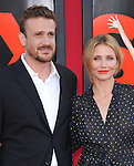 Cameron Diaz and Jason Segel attends The L.A. Premiere of Sex Tape held at The Regency Village Theatre  in Westwood, California on July 10,2014                                                                               © 2014 Hollywood Press Agency