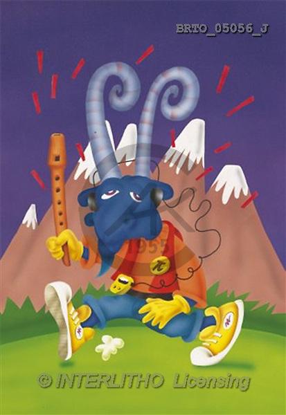 Alfredo, MODERN, zodiacs, paintings(BRTO05056/J,#N#) Sternzeichen, zodíaco, illustrations, pinturas