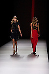 01.09.2012. Models walk the runway in the Miguel Palacio fashion show during the Mercedes-Benz Fashion Week Madrid Spring/Summer 2013 at Ifema. (Alterphotos/Marta Gonzalez)
