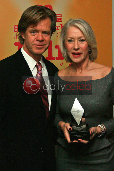 WIlliam H. Macy and Helen Mirren<br />