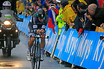 Peter Sagan (SVK) Bora-Hansgrohe in action during Stage 1, a 14km individual time trial around Dusseldorf, of the 104th edition of the Tour de France 2017, Dusseldorf, Germany. 1st July 2017.<br /> Picture: Eoin Clarke | Cyclefile<br /> <br /> <br /> All photos usage must carry mandatory copyright credit (&copy; Cyclefile | Eoin Clarke)