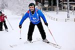 Challenge Mer et Montagne 2012, Saint Gervais les Bains, Mont Blanc, Haute Savoie, France..Ski Super Geant..Yves Le Blevec
