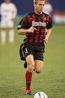 Chris Leitch of the MetroStars. The Colorado Rapids lost to the NY/NJ MetroStars 2-1 on 5/3/03 at Giant's Stadium,East Rutherford, NJ.