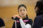 Miyo Ichikawa (Chuden), SEPTEMBER 13, 2013 - Curling : Olympic qualifying Japan Curling Championships Women's Round Robin Match between Chuden 7-6 Sapporo Kokusai University at Dogin Curling Stadium, Sapporo, Hokkaido, Japan. (Photo by Hitoshi Mochizuki/AFLO)
