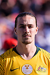 Jackson Irvine of Australia prior to the AFC Asian Cup UAE 2019 Group B match between Palestine (PLE) and Australia (AUS) at Rashid Stadium on 11 January 2019 in Dubai, United Arab Emirates. Photo by Marcio Rodrigo Machado / Power Sport Images