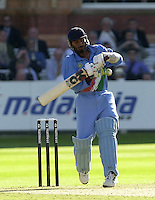 .13/07/2002.Sport - Cricket -NatWest Series Final- Lords.England vs India. Harbajan Singh.
