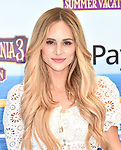 WESTWOOD, CA - JUNE 30: Amanda Stanton attends the Columbia Pictures and Sony Pictures Animation's world premiere of 'Hotel Transylvania 3: Summer Vacation' at Regency Village Theatre on June 30, 2018 in Westwood, California.