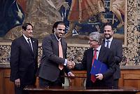 Il Qatar dona all'Italia 5,6 milioni per un complesso scolastico a Macerata.