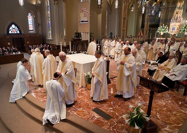 Ordination, 2009..Photo by Matt Cashore/University of Notre Dame