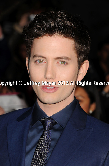LOS ANGELES, CA - NOVEMBER 12: Jackson Rathbone arrives at 'The Twilight Saga: Breaking Dawn - Part 2' Los Angeles premiere at Nokia Theatre L.A. Live on November 12, 2012 in Los Angeles, California.