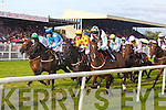 Racing last Friday afternoon for ladies day at The Listowel Races.