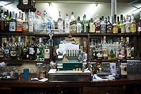 La Potosina bar, said to be the oldest cantina open in Mexico .Night bicycle rides,  Callejon Amor de Dios, Centro Historico, Mexico City.