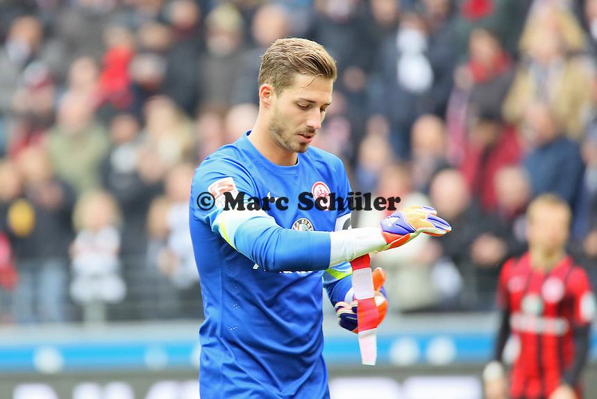 Kevin Trapp (Eintracht) - Eintracht Frankfurt vs. SC Paderborn 07, Commerzbank Arena