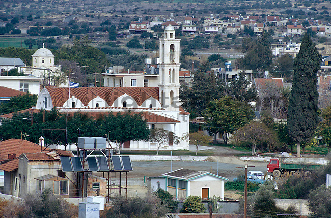 Village near Kolossi Castle, Limassol, Cyprus, Zypern,