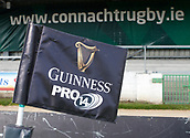 9th September 2017, Galway Sportsground, Galway, Ireland; Guinness Pro14 Rugby, Connacht versus Southern Kings; View of a Guinness PRO14 flag at The Sportsgrounds