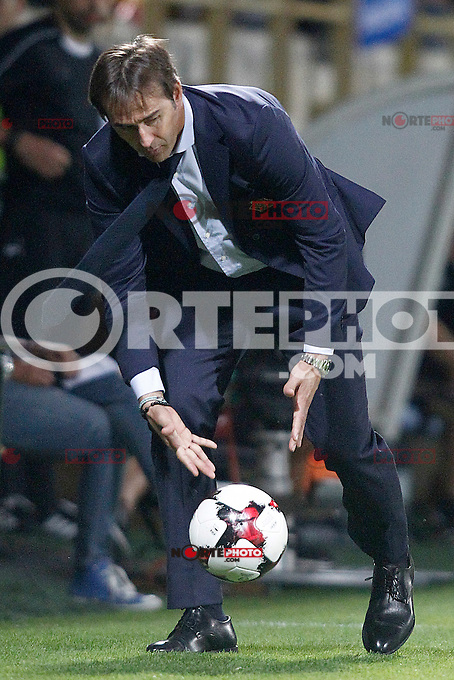 Spain's coach Julen Lopetegui during FIFA World Cup 2018 Qualifying Round match. September 5,2016.(ALTERPHOTOS/Acero) /NORTEPHOTO