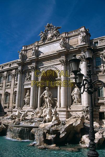 Trevi Fountain, Piazza di Trevi, Rome, Italy