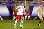 14 November 2008: Maryland's Jason Herrick (9). The University of Maryland defeated Boston College 1-0 at WakeMed Stadium at WakeMed Soccer Park in Cary, NC in a men's ACC tournament semifinal game.