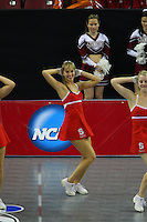 15 December 2007: Stanford Cardinal Dollie during Stanford's 25-30, 26-30, 30-23, 30-19, 8-15 loss against the Penn State Nittany Lions in the 2007 NCAA Division I Women's Volleyball Final Four championship match at ARCO Arena in Sacramento, CA.