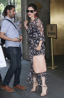 NEW YORK, NY - JUNE 22: Rachel Bilson seen leaving the appearance of NBC's Today Show in New York City on June 22 , 2017. Credit: RW/MediaPunch