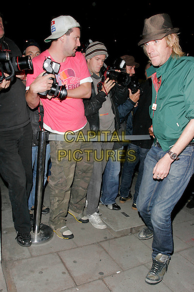 RHYS IFANS .Spotted at the Royal Academy of Arts during London Fashion Week, London, England..September 15th, 2008.LFW full length jeans denim green jacket brown hat.CAP/AH.©Adam Houghton/Capital Pictures.