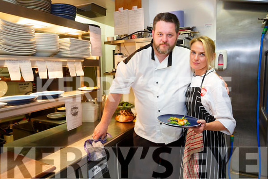 CROI Restaurant, The Square celebrity Chef fundraiser in aid of Donal Walsh #livelife foundation  part of Culture Night on Friday Noel Keane with celebrity Chef Elaine Kinsella, Radio Kerry
