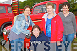 Enjoying the Vintage trucks at the Camp Vintage Rally on Sunday l-r: Bridget Counihan, Camp, Philomena Curran, Annascual, Trisha Tangney, Tralee and Mary Moore, Camp.