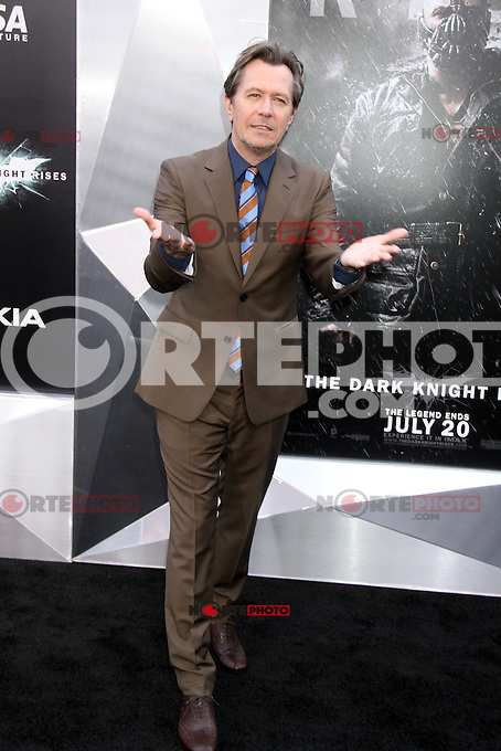 NEW YORK, NY - JULY 16:  Gary Oldman at 'The Dark Knight Rises' premiere at AMC Lincoln Square Theater on July 16, 2012 in New York City.  © RW/MediaPunch Inc.
