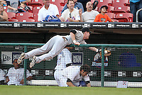 Syracuse Chiefs Chase Lambin during a game vs. the Buffalo Bisons at Coca-Cola Field in Buffalo, New York;  August 30, 2010.  Syracuse defeated Buffalo 4-1.  Photo By Mike Janes/Four Seam Images