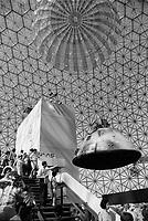 Expo 67 - Terre des Hommes<br /> <br /> <br /> <br /> PHOTO : Alain Renaud - Agence Quebec Presse<br /> <br /> Les images command&eacute;es seront recadr&eacute;es lorsque requis