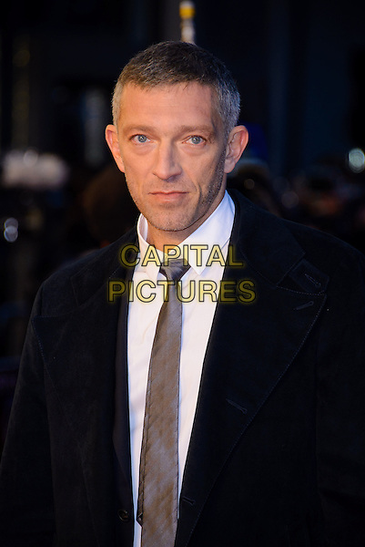 Vincent Cassel.'Trance' World premiere held at Odeon West End, London, England..19th March 2013 .half length black jacket white shirt grey gray tie headshot portrait.CAP/CJ.©Chris Joseph/Capital Pictures.