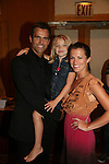 """Cameron Mathison - Lucy Merriam """"Emma"""" - Melissa Claire Egan attend All My Children Fan Luncheon on September 13, 2009 at the New York Helmsley Hotel, NYC, NY. (Photo by Sue Coflin/Max Photos)"""