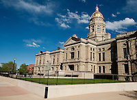 The State Capital Building of Cheyenne, Wyoming, Thursday, June 2, 2011.  ..Photo by Matt Nager
