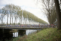 peloton over the Damme Canals<br /> <br /> stage 3<br /> Euro Metropole Tour 2014 (former Franco-Belge)