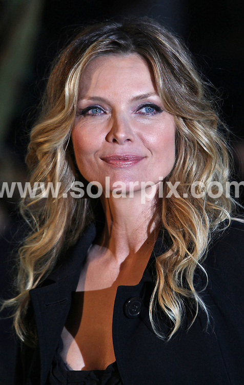 **ALL ROUND PICTURES FROM SOLARPIX.COM**.**WORLDWIDE SYNDICATION RIGHTS**.The European premiere of Stardust at the Odeon Leicester Square in the West end of London this evening..This pic:MICHELLE PFEIFFER.JOB REF:4920- SSD     DATE:03_10_07.**MUST CREDIT SOLARPIX.COM OR DOUBLE FEE WILL BE CHARGED* *UNDER NO CIRCUMSTANCES IS THIS IMAGE TO BE REPRODUCED FOR ANY ONLINE EDITION WITHOUT PRIOR PERMISSION*