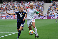 Erin Cuthbert (Scotland) - Steph Houghton (England)<br /> Nice 09-06-2019 <br /> Football Womens World Cup <br /> England - Scotland <br /> Inghilterra - Scozia <br /> Photo Norbert Scanella / Panoramic/Insidefoto <br /> ITALY ONLY