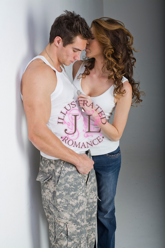 Romance Book Cover Stock ~ Contemporary military stock photograph for romance novel