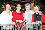 FRIENDS: Friends meet up at Kate Browne's Bar & Restaurant to celebrate Women christmas on Monday night. l-r: Mary Harmon, Peggy Fitzmaurice, Judy O'Connor and Joan Dowling