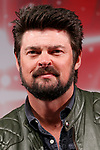 Actor Karl Urban attends a talk show during the Tokyo Comic Con 2017 at Makuhari Messe International Exhibition Hall on December 1, 2017, Tokyo, Japan. This is the second year that San Diego Comic-Con International held the event in Japan. Tokyo Comic Con runs from December 1 to 3. (Photo by Rodrigo Reyes Marin/AFLO)