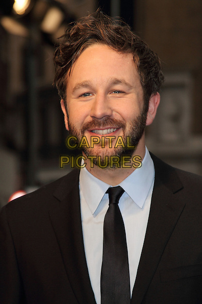Chris O'Dowd.BFI London Film Festival Gala Screening of 'The Sapphires' at the Odeon West End, Leicester Square, London, England..October 15th 2012.headshot portrait black suit tie blue shirt beard facial hair .CAP/ROS.©Steve Ross/Capital Pictures