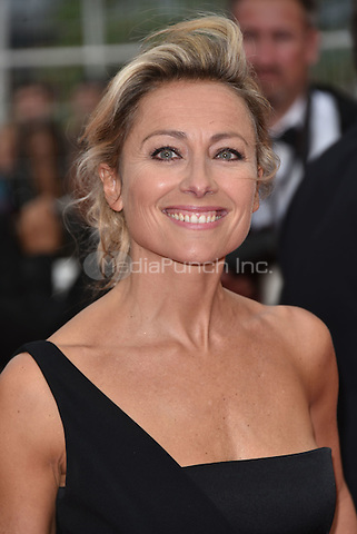Anne-Sophie Lapix arrives at 'Ma Loute' screening at 69th International Cannes Film Festival, France<br /> May 2010<br /> CAP/PL<br /> &copy;Phil Loftus/Capital Pictures /MediaPunch ***NORTH AND SOUTH AMERICA ONLY***