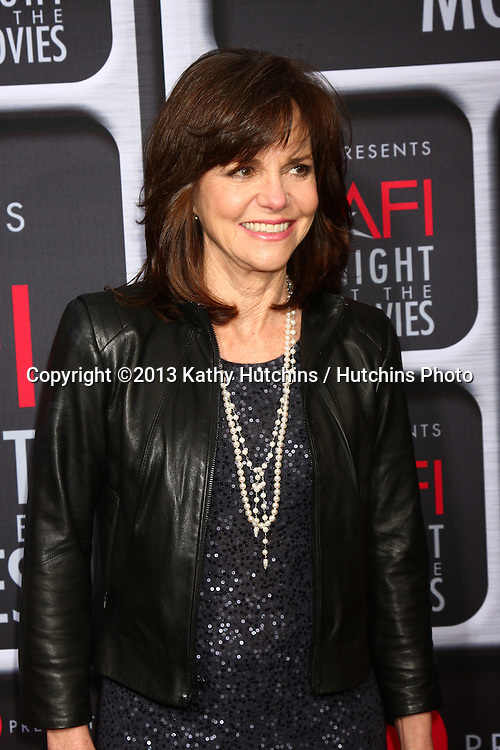 LOS ANGELES - APR 24:  Sally Field arrives at the AFI Night at the Movies 2013 at the ArcLight Hollywood Theaters on April 24, 2013 in Los Angeles, CA