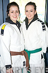 Killarney sisters Naomi and Cody Brosnan, Killarney Judo Club, who competed in the  National Judo Championships held in the Sports and Leisure Centre, Killarney on Saturday.....NO FEE...PR SHOT....