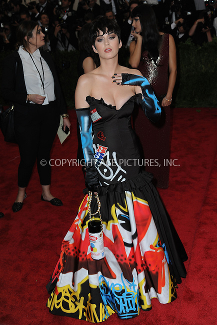 WWW.ACEPIXS.COM<br /> May 4, 2015...New York City<br /> <br /> Katy Perry attending the Costume Institute Benefit Gala  celebrating the opening of China: Through the Looking Glass at The Metropolitan Museum of Art on May 4, 2015 in New York City.<br /> <br /> Please byline: Kristin Callahan<br /> ACEPIXS.COM<br /> Tel# 646 769 0430<br /> e-mail: info@acepixs.com<br /> web: http://www.acepixs.com